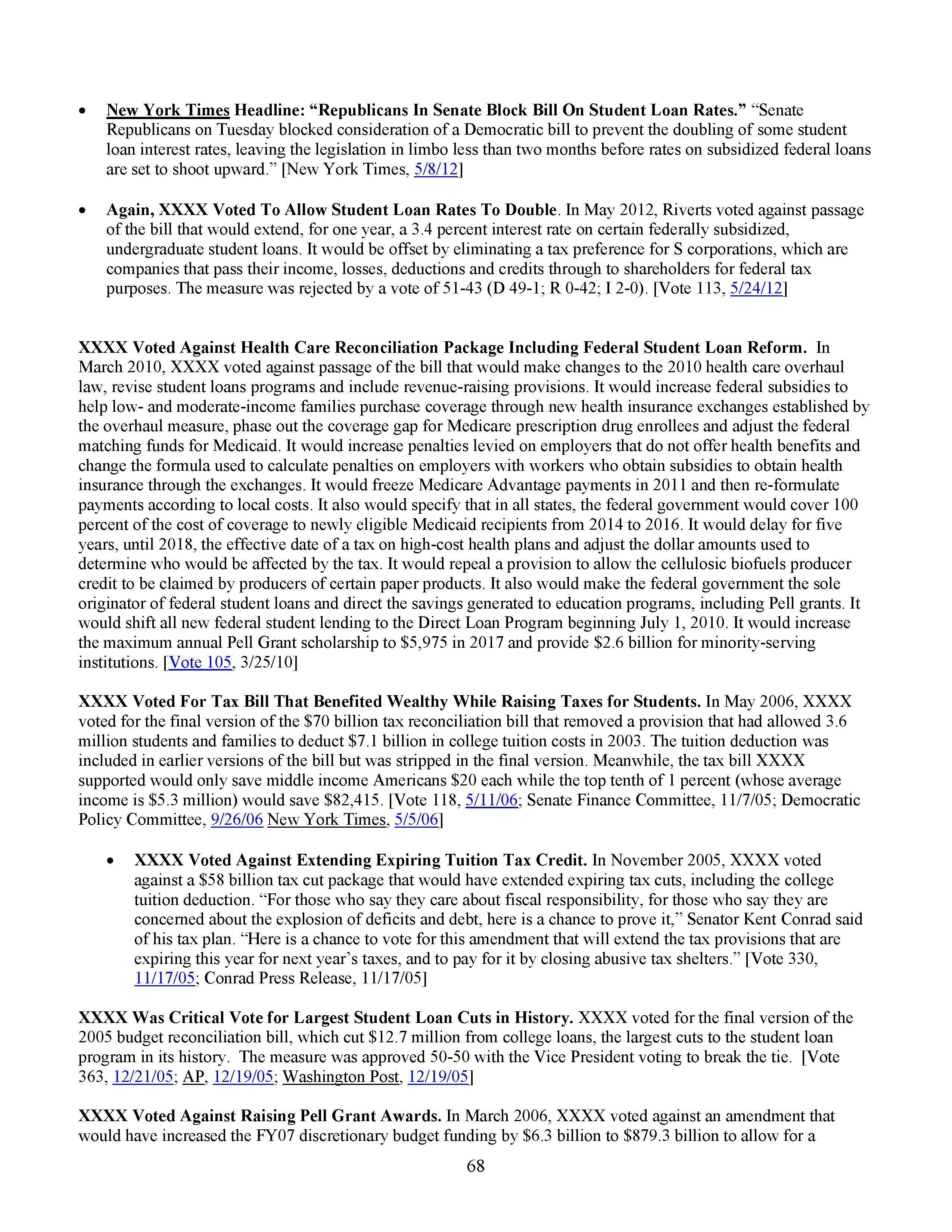 Hrc vote skeleton 68 new york times headline republicans in senate block bill on student loan rates senate republicans on tuesday blocked consideration of a democratic altavistaventures Image collections