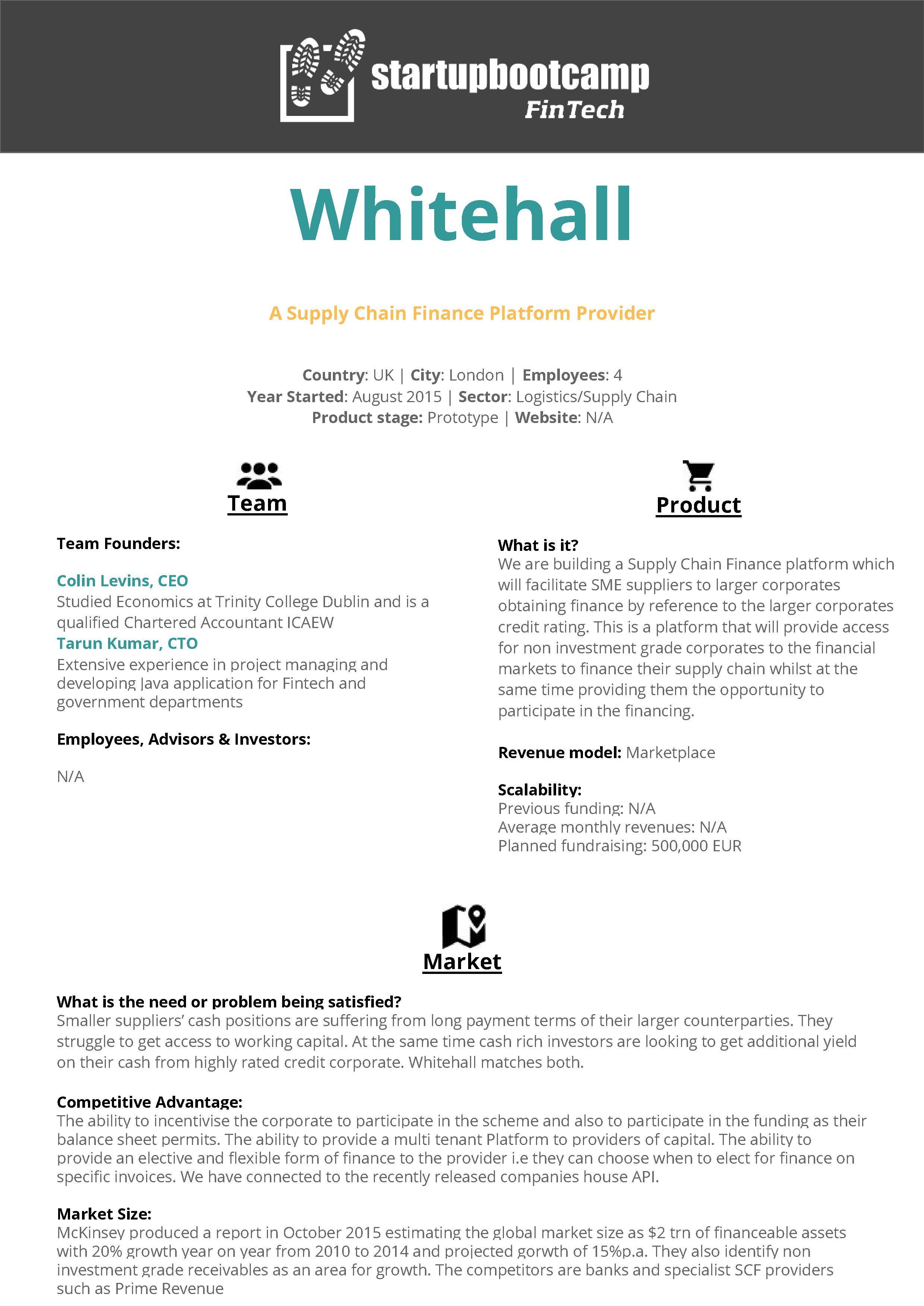Startup Information Pack