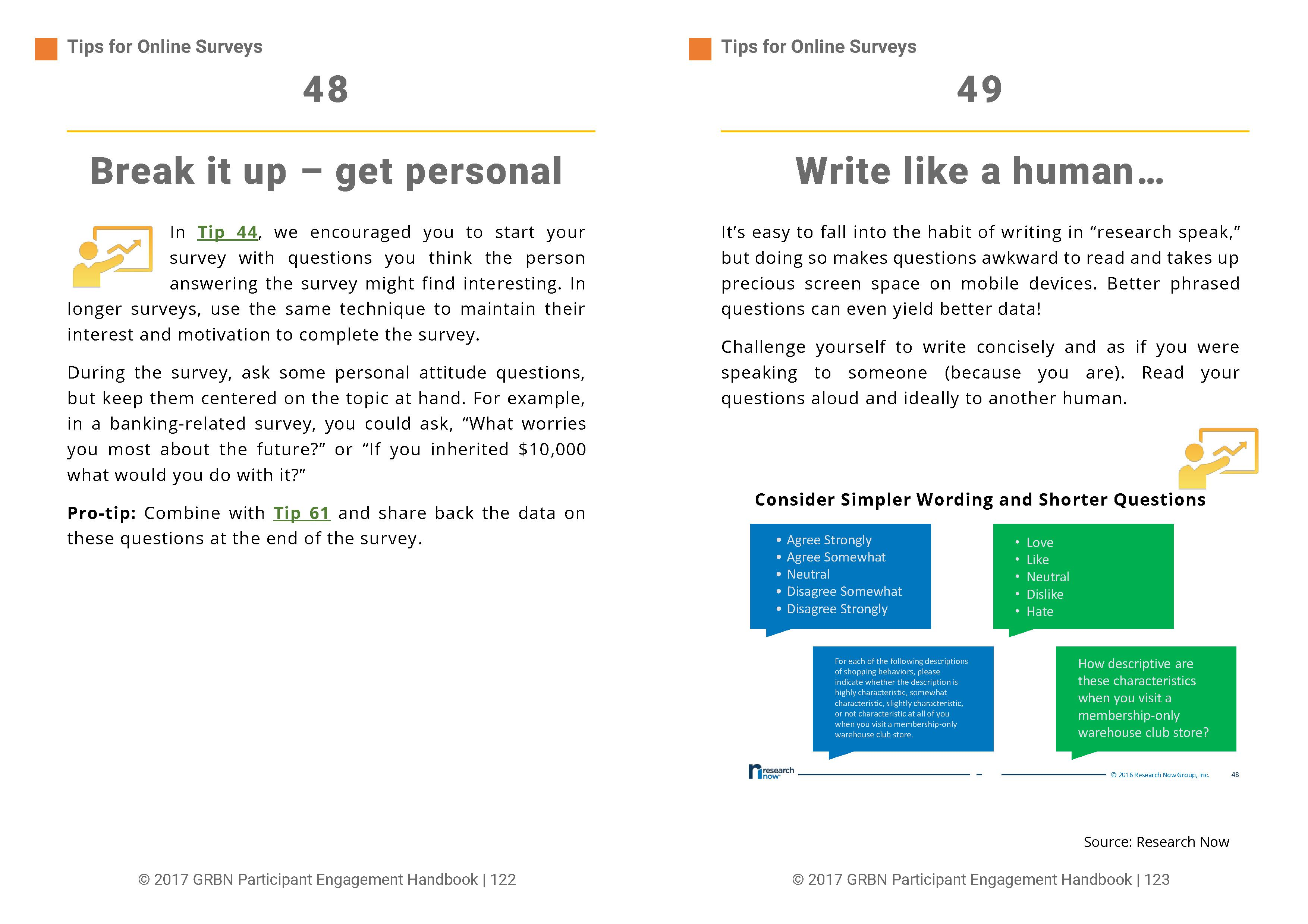 101 Tips to Improve the Research Participant User Experience - 62/118