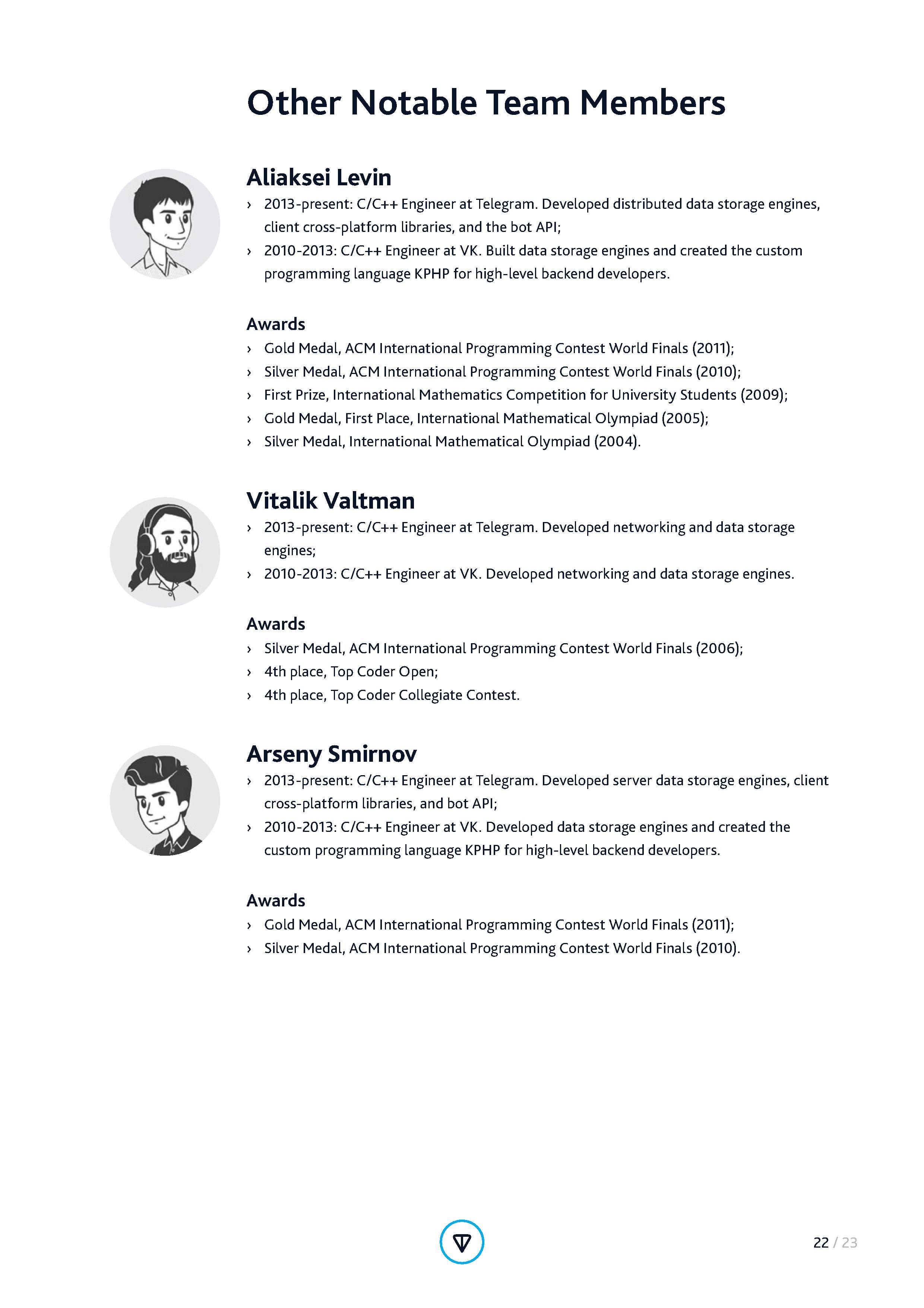 Telegram Open Network (TON) ICO Whitepaper