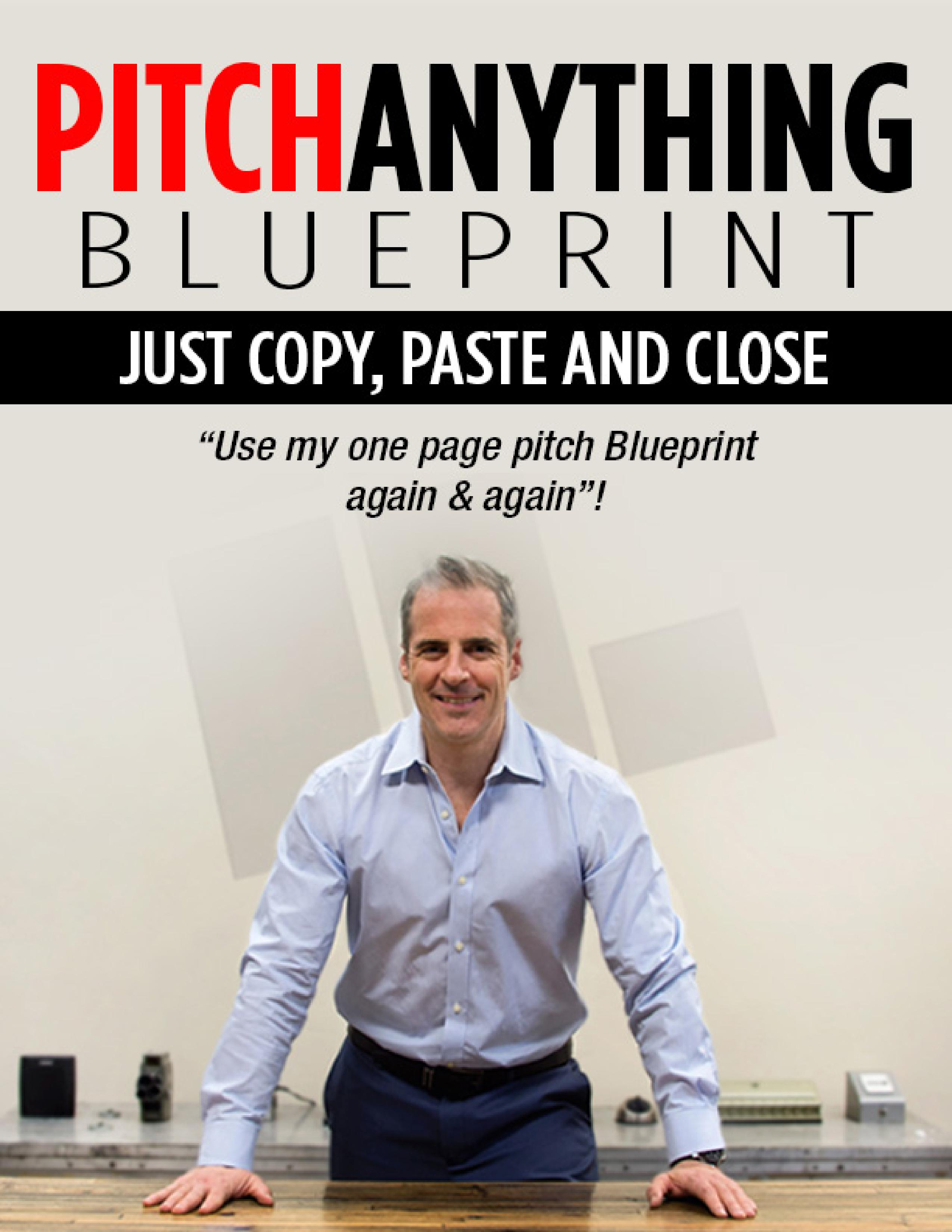Pitch anything blueprint malvernweather Images