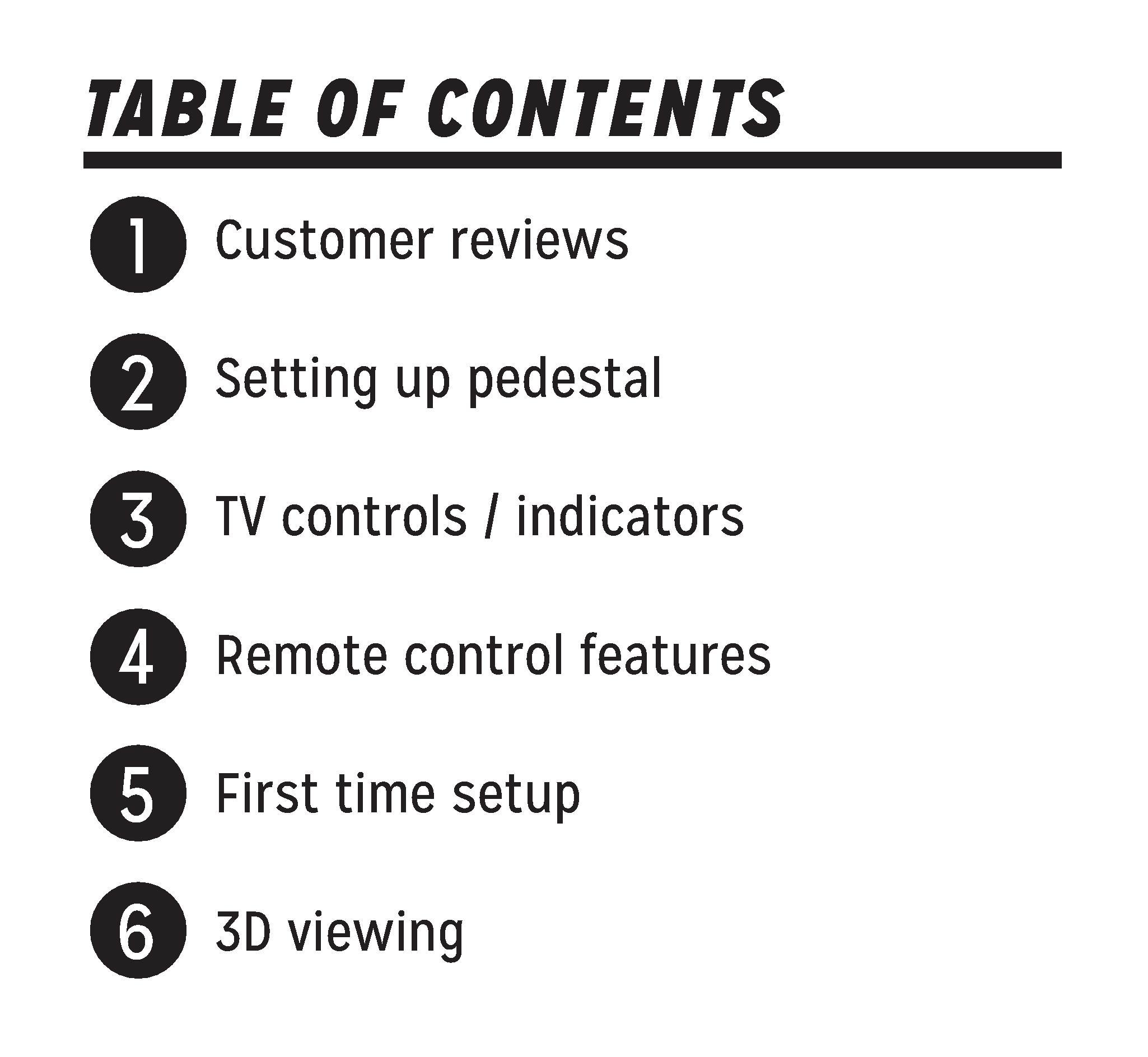 Panasonic Viera TV Manual