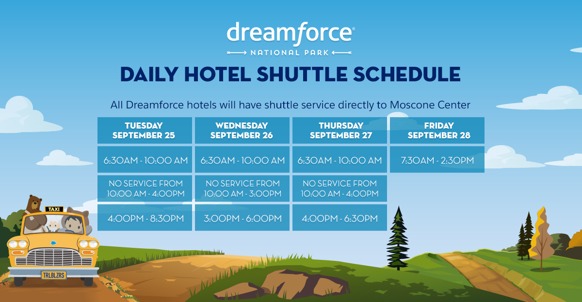 Interactive Campus Map Dreamforce '18 — Salesforce on